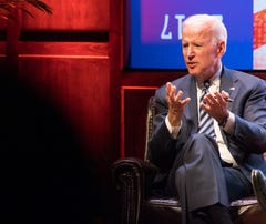 Joe Biden speaks at Vanderbilt