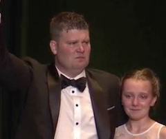 Titans GM Jon Robinson and His Daughter Get Emotional at Diabetes-fighting Fundraiser