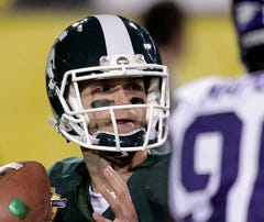 Michigan State quarterback Andrew Maxwell might hold the key to the Spartans' entire offense.