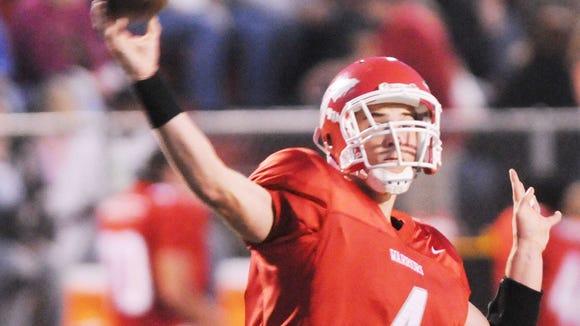 Erwin graduate Robbie Nallenweg is now a quarterback in the Indoor Football League.