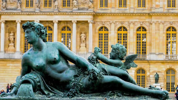 Statues of Versailles.