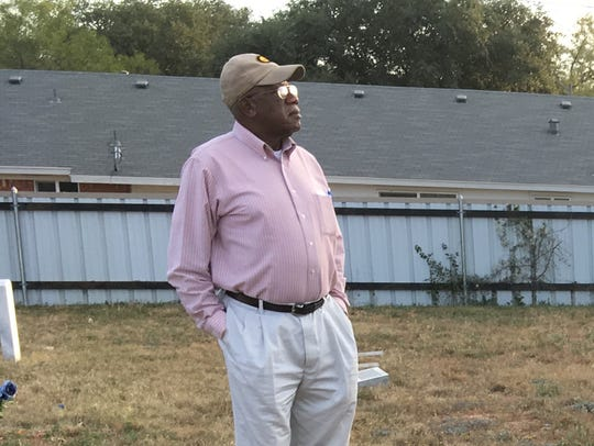 Aubrey Todd, president of the Delta Memorial Park Cemetery