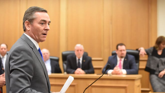 House GOP Caucus Chairman Glen Casada said lawmakers should oust Rep. Jeremy Durham in a special session, but they made a mistake by not ousting Rep. Joe Armstrong during the regular legislative session.
