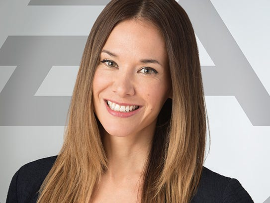Video game producer Jade Raymond, who will run Electronic Arts' Motive Studios based in Montreal.
