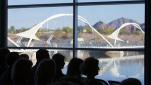 Community leaders gather for the Rio Reimagined meeting at the Tempe Center for the Arts on March 30, 2018.
