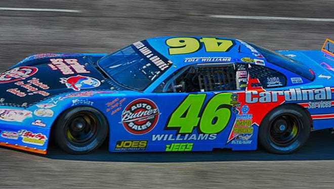Cole Williams hopes to make a push in the second half of the season and repeat as the track champion at Fairgrounds Speedway Nashville.