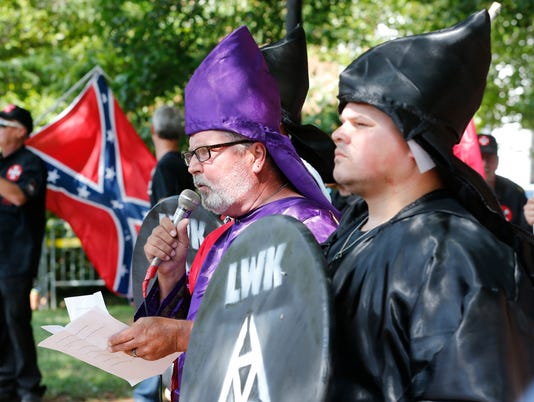 AP KKK RALLY A USA VA