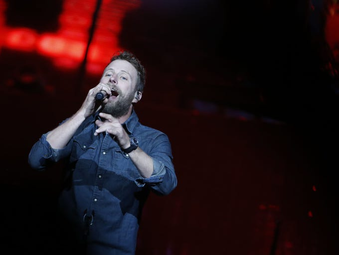 Dierks Bentley performs at Talking Stick Resort Arena
