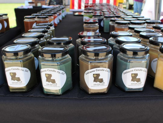 Louisiana Candle Co. sells homemade, hand poured candles