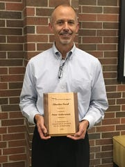 Peter Underwood of Whitewater received the Education Award
