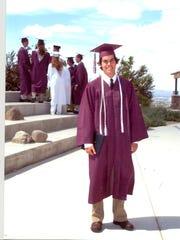Sage Ridge graduate David Hoffman