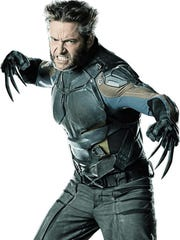 Hugh Jackman as Wolverine from the film 'X-Men: Days of Future Past.'