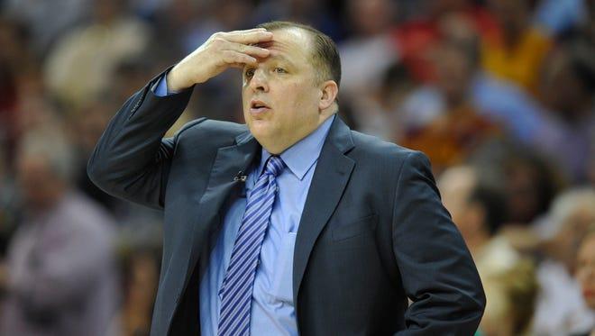 Chicago Bulls head coach Tom Thibodeau and team parting ways.