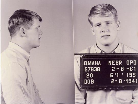 "Nick Nolte describes as his ""first mug shot"" after"