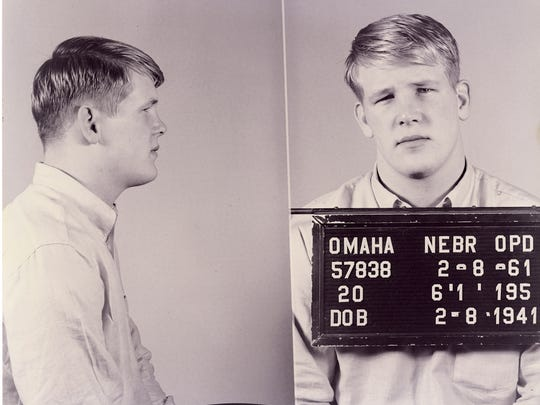 "Nick Nolte describes as his ""first mug shot"" after"
