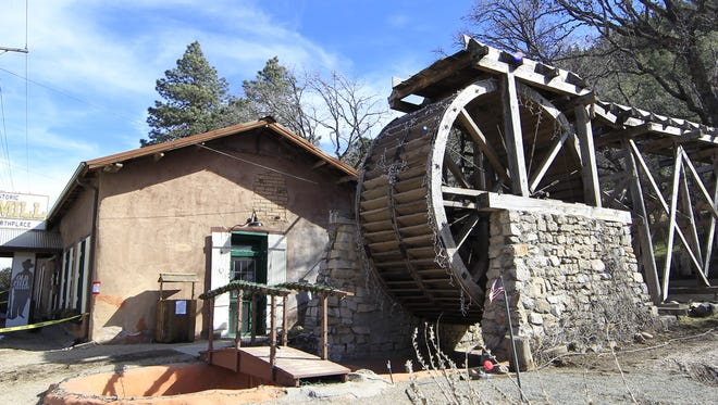 Old Dowlin Mill is located at 641 Sudderth Drive.