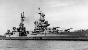 USS Indianapolis (CA-35), a Portland class heavy cruiser of the United States Navy, was launched in 1931. She was flagship for Admiral Raymond Spruanc,e while he commanded the Fifth Fleet. The ship was sunk by Japanese torpedoes on July 30, 1945.