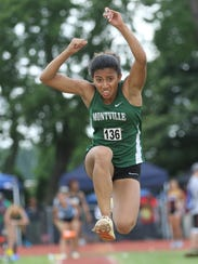 Alicia Gupte, of Montville, triple jumped, more than