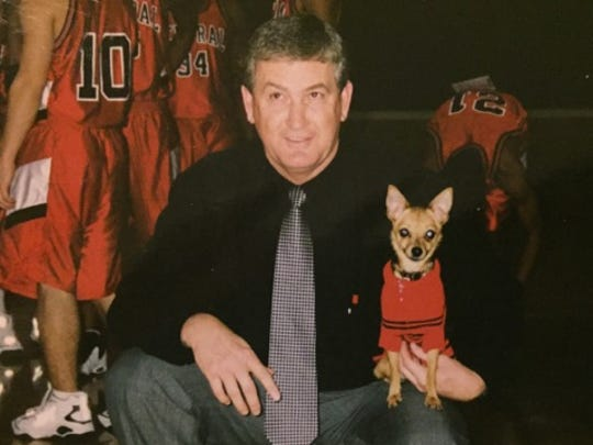 Ronnie White during his coaching years in Springfield Public Schools