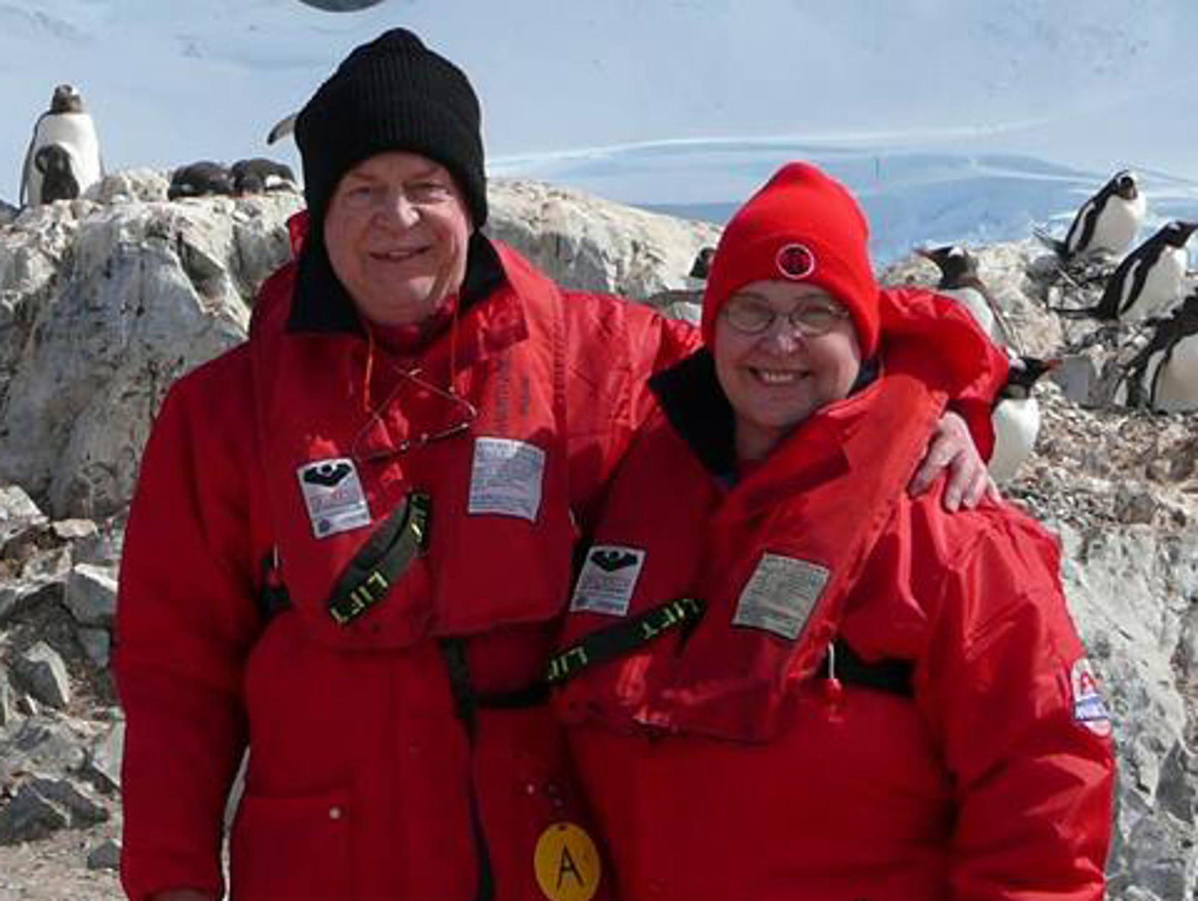 Robert Bonta, 72, and Karen Bonta, 71, were avid travelers