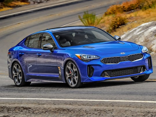 Third place: 2018 Kia Stinger GT2 AWD