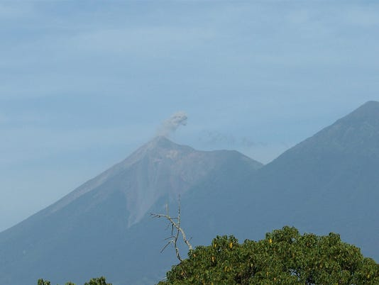 guat---volcano-smoking