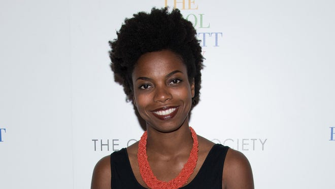 """NEW YORK, NY - SEPTEMBER 17:  Sasheer Zamata attends the """"The Carol Burnett Show: The Lost Episodes"""" screening hosted by Time Life and The Cinema Society at Tribeca Grand Hotel on September 17, 2015 in New York City.  (Photo by Dave Kotinsky/Getty Images) ORG XMIT: 579034409 ORIG FILE ID: 488857108"""