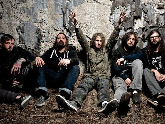 EyeHateGod performs at the Cactus Club Wednesday.