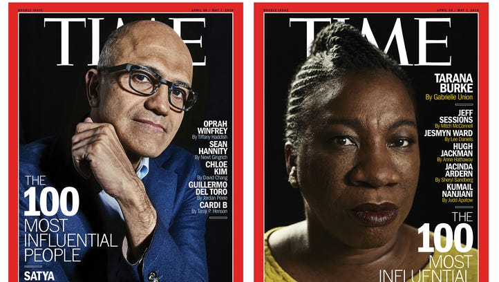 ''Time's' 2018 Most Influential People list has record number of women, people under 40
