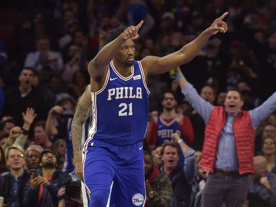 Joel Embiid, Philadelphia 76ers — 24
