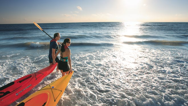 Spend a day kayaking at Lovers Key State Park.