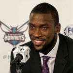 Michael Kidd-Gilchrist records double-double