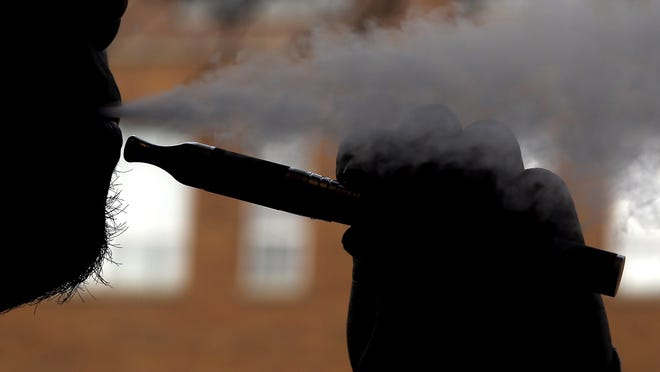 """""""Vaping"""" has unknown risks to health but is still spreading in popularity."""