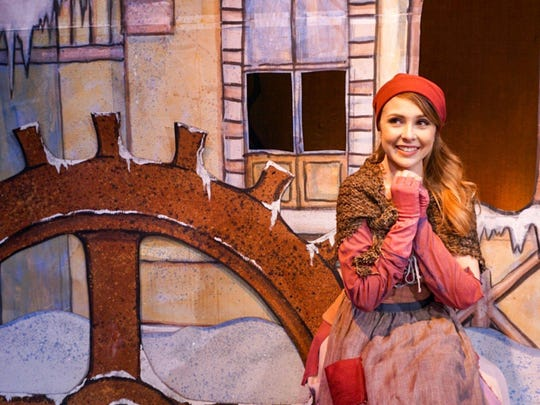 """""""Cinderella: A Holiday Musical"""" opens tonight at The Growing Stage in Netcong."""