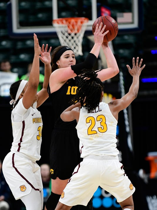 NCAA Womens Basketball: Big Ten Conference Tournament Minnesota vs Iowa