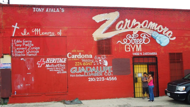 Tony Ayala Jr. spent the past 13 months training young boxers at the Zarzamora Street Gym, which was his late father's home away from home.