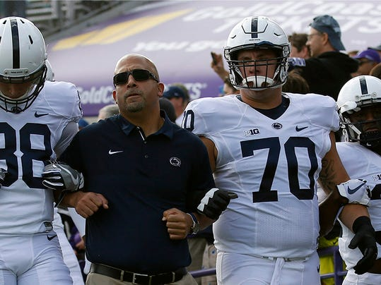 NCAA Football: Penn State at Northwestern