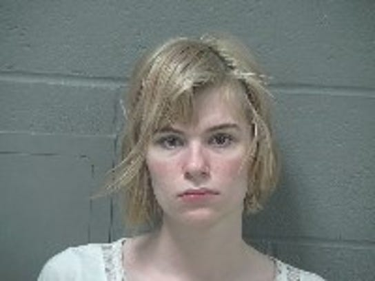 Mariah Dinya, 20, of Crestline was arrested on a charge