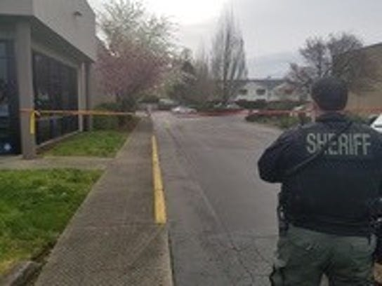Two men are dead and another is injured after a shooting