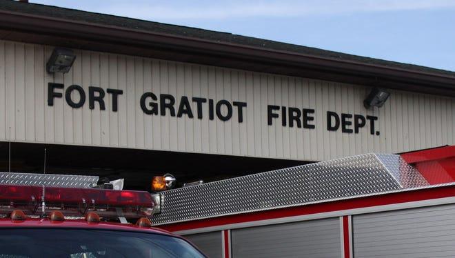 Fort Gratiot firefighters put out a small grass fire Thursday.