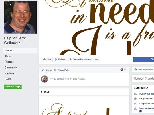 Friends of first aid squad member and Asbury Park Press freelance photographer Jerry Wolkowitz are organizing a fundraising event to help offset his medical bills.