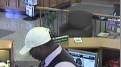 Jackson police are looking for a man shown on a surveillance video image in a bank robbery at Bancorp South, at 1411 N. Highland Ave.