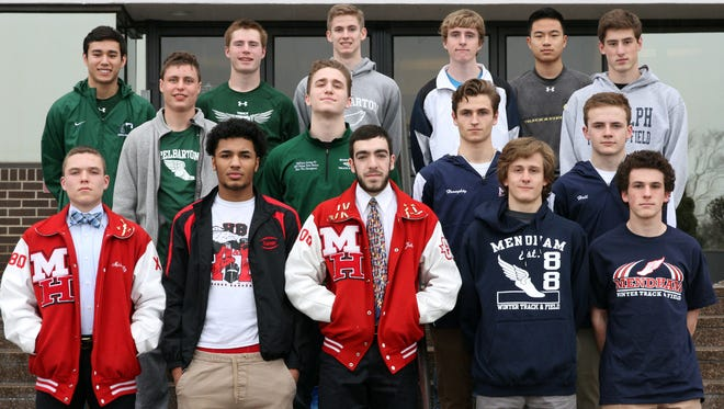 The All Daily Record Boys Track Team.