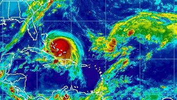 Hurricane Joaquin, Thursday morning.