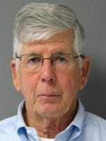 William Harris, 66, was arrested by University of Delaware Police for stalking.