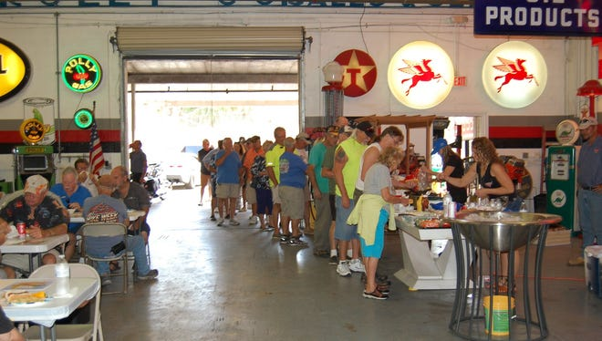 More than 300 people have been gathering for BBQ for Progeria on the first Thursday of the month.