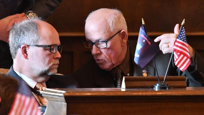 Senate Majority Leader Arlan Meekhof, R-West Olive, and Sen. Jim Marleau, R-Lake Orion, are among 25 state Senators who could not seek re-election this year due to term limits.