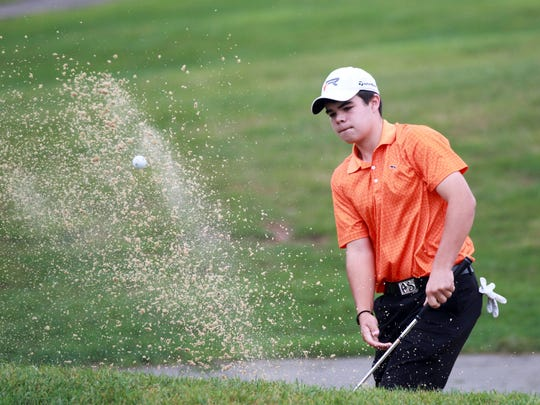 Ryle senior Austin Squires, shown in a Raider uniform in 2013, will play in the U.S. Junior Amateur in July.