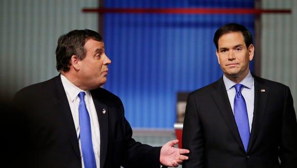 Chris Christie and Marco Rubio.