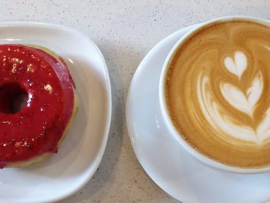 Honey Bee blackberry lav-latte